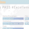 Cap sur ExcELLEnce, Boarding Pass
